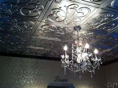 tin ceiling installation vinyl faux tin ceiling tiles and decorative wall panels