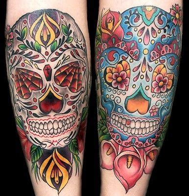 sugar skull tattoo new tattoos pinterest