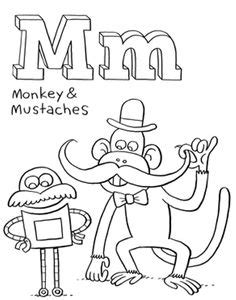 abc coloring pages for baby shower one on pinterest mustache baby showers mustache party