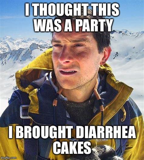 Bear Grylls Blood Meme - bear grylls meme imgflip
