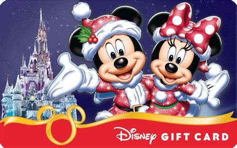 Disney Gift Cards Disneyland Paris - smart phones add some magic to new holiday themed disney gift card designs