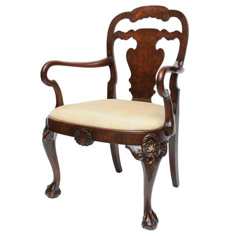 1900 furniture style pictures english georgian style arm chair burl walnut circa
