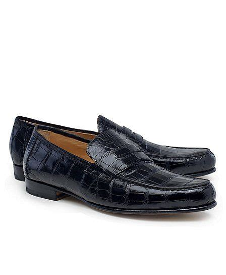 Footwear Ankona Black s american alligator loafers alligators