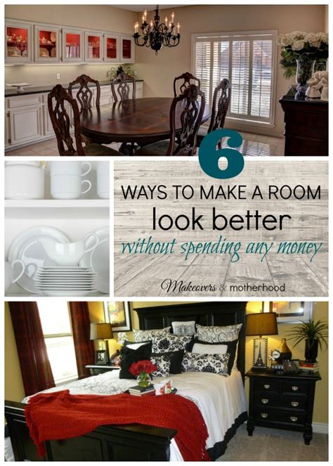 how to make your bedroom look better make a room look better without spending a dime