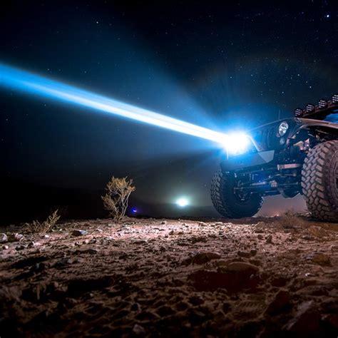 baja designs onx  hybrid led  laser light bar