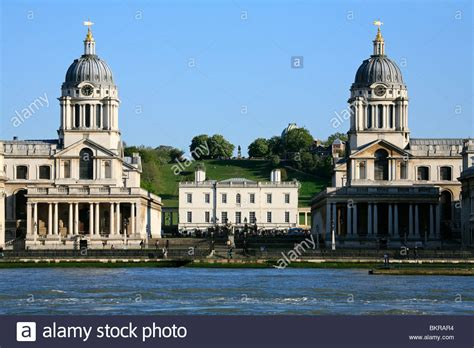 buy house greenwich greenwich royal naval college london from across the river thames stock photo
