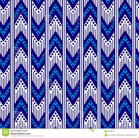 tribal pattern zigzag tribal zigzag seamless pattern stock vector image 66989737
