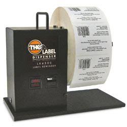 top label rewinder rewinders unwinders mpi label systems