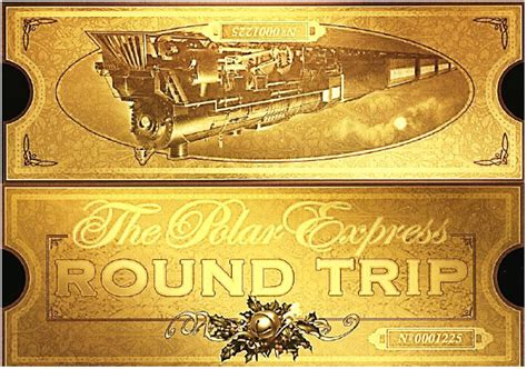 best photos of polar express ticket template polar