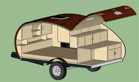 teardrop trailer floor plans 25 best ideas about teardrop cer plans on pinterest