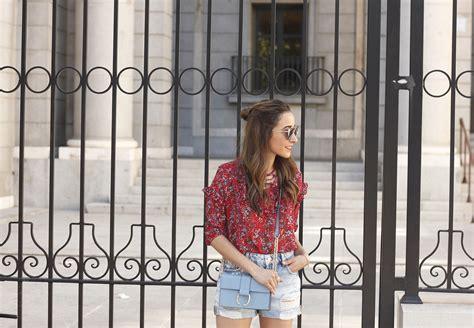 Lace Up Front Chiffon Blouse lace up front printed chiffon blouse metisu