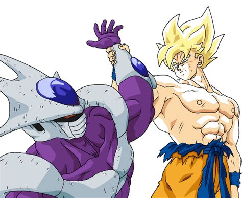 imagenes de goku vs cooler cooler vs goku dragon ball wiki