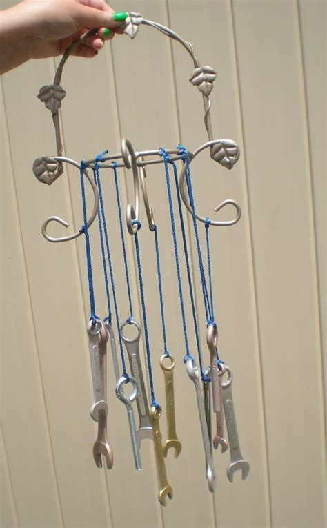 wind chimes diy hot glue sparkle diy tool wind chime
