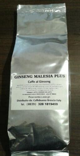 Ginseng Per Kg caff 232 al ginseng liofilizzato da 1 kg brescia