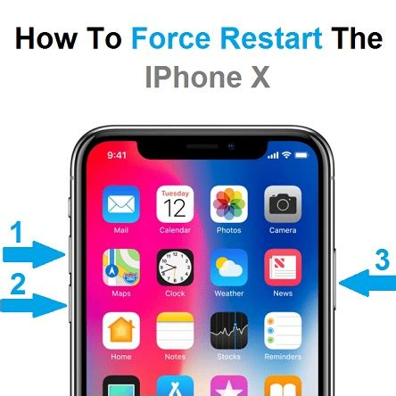 how to reboot restart iphone xs and xs max guide