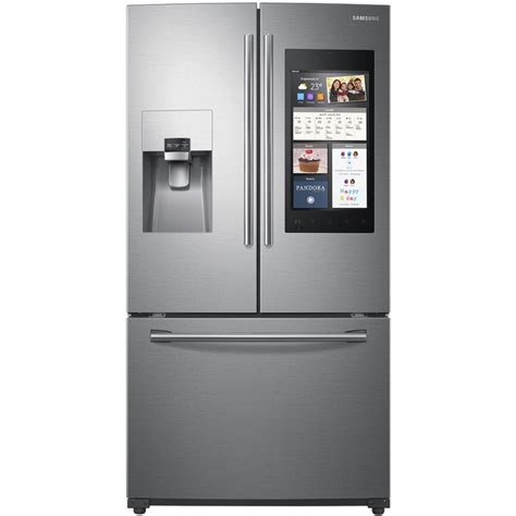 energy door refrigerator shop samsung family hub 24 2 cu ft door