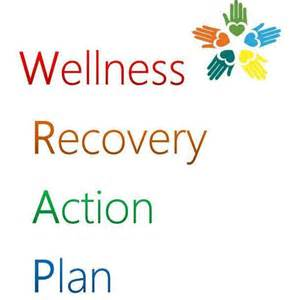wellness and recovery plan template wellness recovery plan