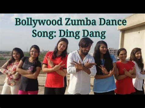 tutorial dance on ding dang ding dang munna michael zumba fitness workout
