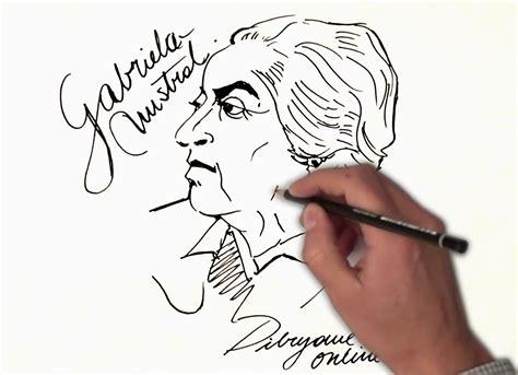 imagenes de amor para gabriela biografia gabriela mistral para ni 241 os dibujada youtube