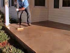 Concrete Patio Floor Paint Ideas by How To Paint A Concrete Floor How Tos Diy