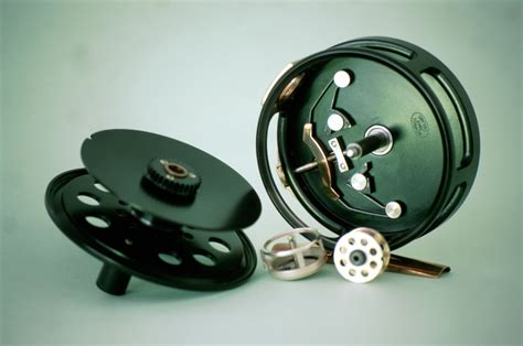 Handmade Fly Reels - woodworking tools by richard kell