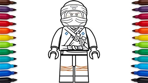 coloring pages lego ninjago movie how to draw lego ninjago jay walker from the lego ninjago