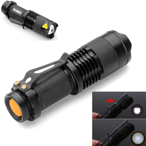 Led Mini Torch 7w 300lm mini cree led lightsaber torch gets 91 reduction