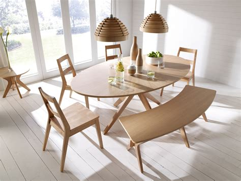 bench style dining room tables malmo scandinavian style dining furniture tables chairs