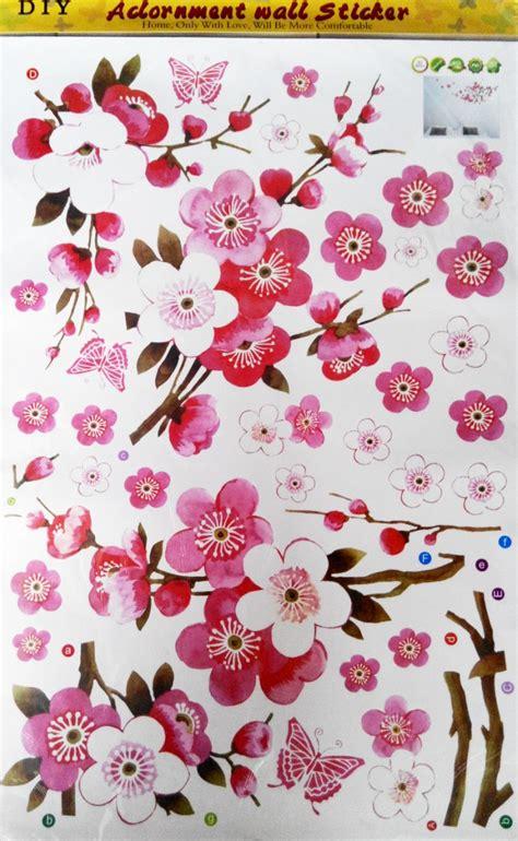 Gordentiraigordynhordeng Motif Bunga Uk 200x75 3 jual wall sticker motif bunga stiker dinding murah