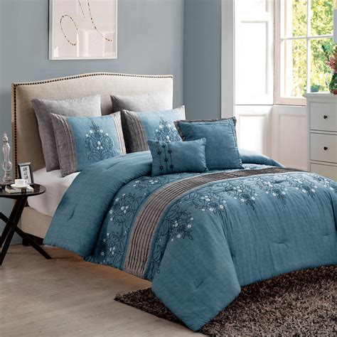modern king master bedroom comforter sets pct polyester
