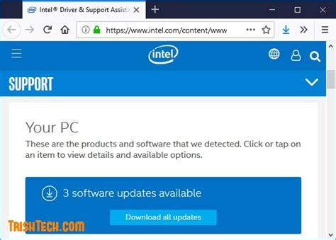 Intel Auto Update Drivers by Update Intel Drivers In Windows With Intel Driver