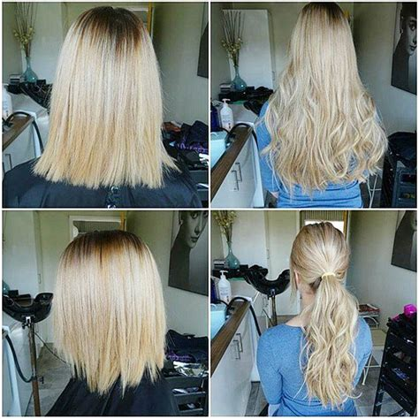 short hairstyles with hair extensions pictures before and after 168 best images about hair extensions on pinterest vixen