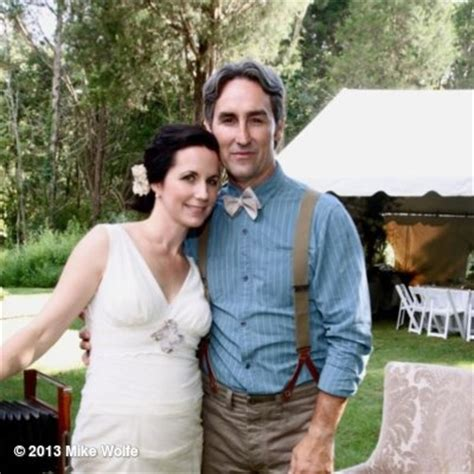 mike wolfe s photo quot one year married a beautiful wife and a beautiful daughter blessed quot on
