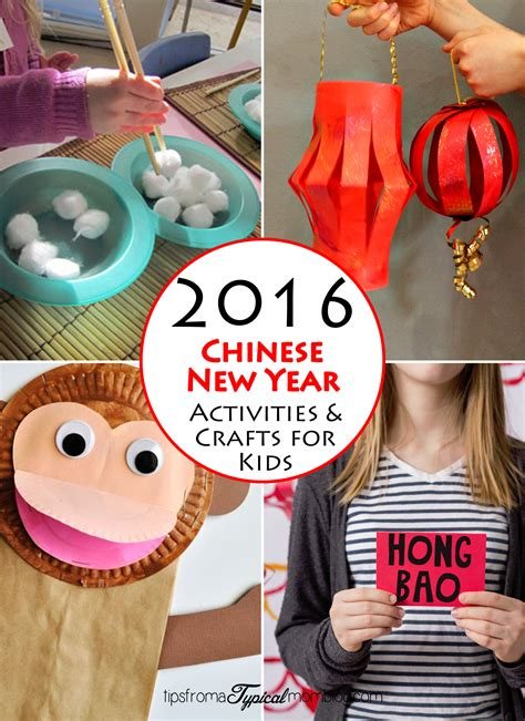 new year year of monkey craft new year activities and crafts for tips