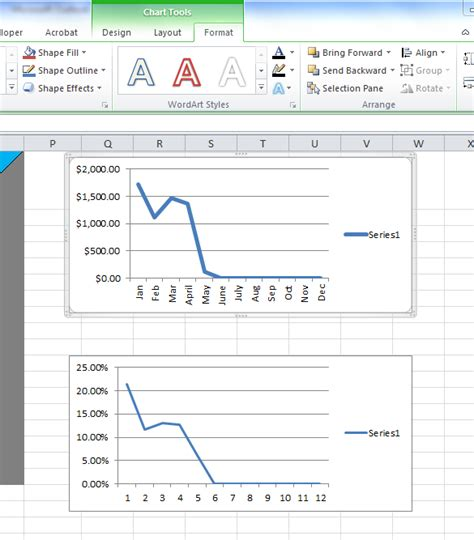 Excel Spreadsheet Tips by Excel Spreadsheets Help Excel Tips How To Align Charts