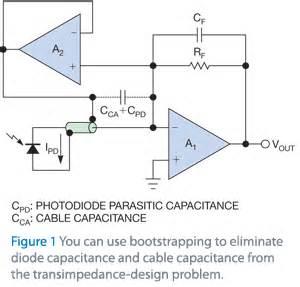 esd diode parasitic capacitance remote photo sensing edn
