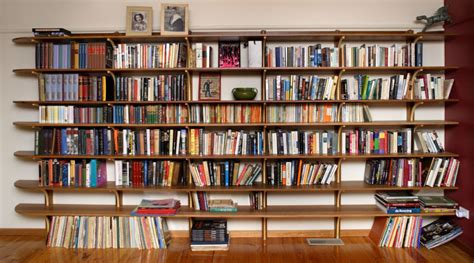 select custom joinery recycled timber bookshelves