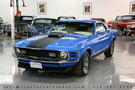 1970 ford mustang mach 1 well maintained by original owner classic classics groovecar 1970 ford mustang mach 1 428 classic car studio