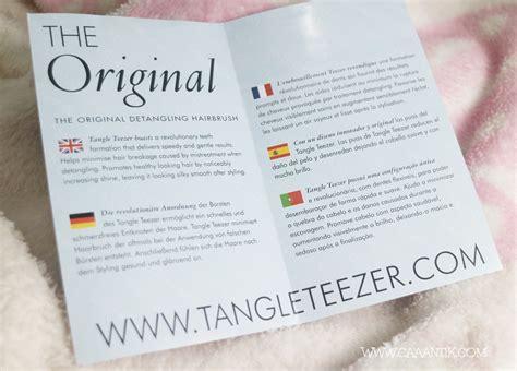 Sisir Tangle Teezer tangle teezer the original sisir untuk rambut kusut