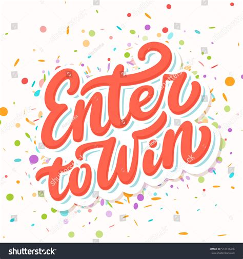 Our Alex Woo Giveaway Winner by Enter Win Contest Banner Stock Vector 553731466