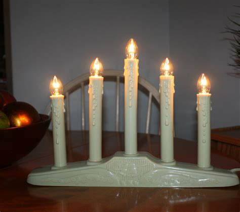 5 light christmas window candelabra noma candle shop collectibles daily