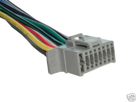panasonic wiring harness carstereo  pin wireconnector ebay