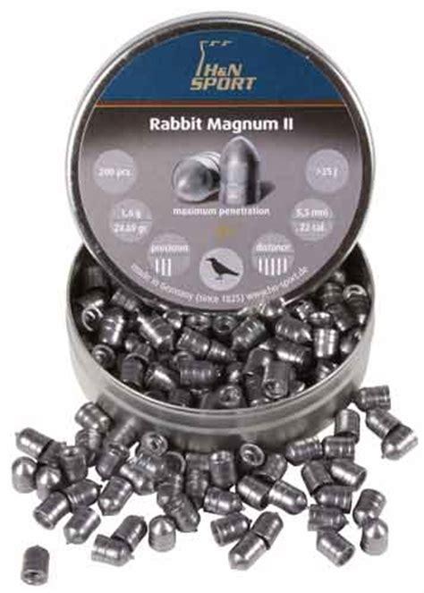 Rabbit Magnum Cal 22 h n rabbit magnum ii 22 cal 24 69 gr 200 ct airgun depot