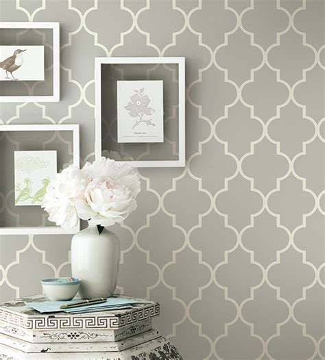 tapeten modern design grey contemporary geometric wallpaper simplicity two