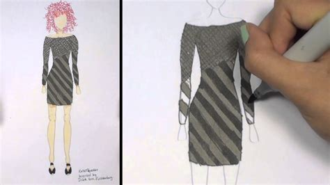 fashion design for beginners drawing clothes for beginners how to draw fringe dress i