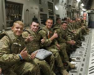 we re coming home of troops flying back from