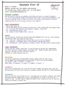 how to write a cv write a cv writing a cv