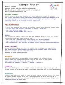 How to write a cv write a cv writing a cv