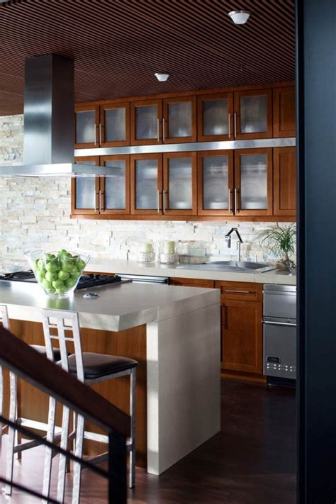 latest kitchen cabinet trends glass cabinets open shelving big 2014 kitchen trend