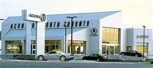 acura of toronto in thornhill ontario canada